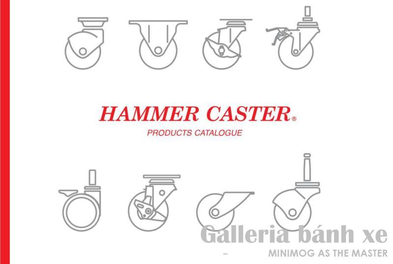 Catalog bánh xe đẩy Hammer Caster